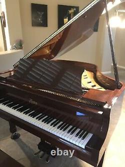 Boston Baby Grand Piano Model GP-163, 5'4 Steinway Designed, High Gloss Used