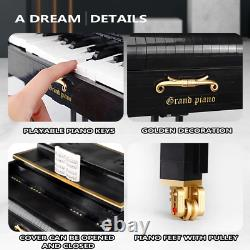 Building Blocks Playable Grand Piano Set Assembly Mode Brick Set Gift For Kids