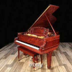 Completely Restored Steinway Grand Piano, Model A 6'2 Rare Cabinet