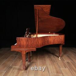Exquisite Circassian Walnut HAMBURG Steinway Grand Piano, Model M 5'7 RARE