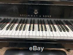Famous HAMBURG Steinway & Sons Concert Grand Piano Model D Made 1992 C&D Model
