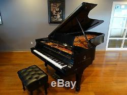Fully Rebuilt Beautiful Steinway & Sons Concert Grand Model D Piano