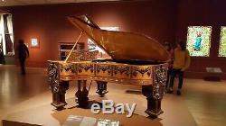 Gilded Age Steinway Grand Piano Model B Art Case (1882) Original Condition