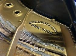 HAMBURG Steinway & Sons Concert Grand Piano Model D