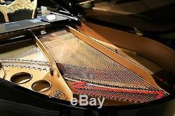 Hamburg Steinway grand piano Model O in ebony polish
