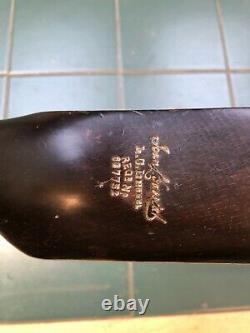 Hickory Golf Club Jean Gassiat Grand Piano Putter Ringed Hickory Shaft LGL Model