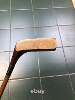 Hickory Golf Club Rare Jean Gassiat Grand Piano Putter LCL Model Superb Cond