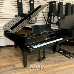 Ibach Model F-II 6'0 Polished Ebony Grand Piano (with Warranty, Bench & More)