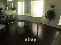 Kawai Baby Grand Piano, Model KG-2C Cream Color withbench