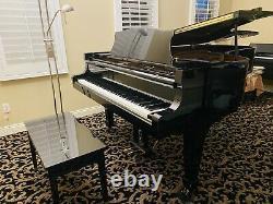 Kawai Semi-Concert Grand Piano Model KG-7D 1484532P