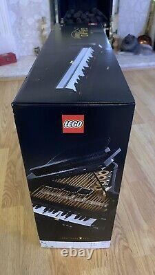 LEGO 21323 Ideas Grand Piano Model Building Set for Adults, Collectible Display