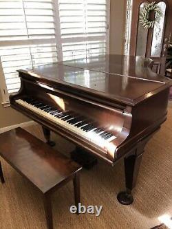 Mason & Hamlin Grand Piano Model A 1915 Mahogany 5'81/2 Tuned 4/2021 to A440