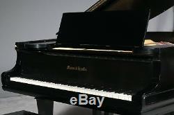 Mason Hamlin Grand Piano Model A 58 Black Satin Finish