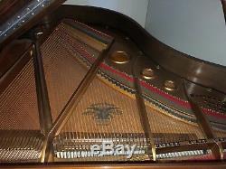 Mason Hamlin Grand Piano, Model A Mahogany cabinet Completely Restored Chicago