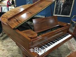 Mason & Hamlin Grand Piano Model AA Gorgeous Mahogany Case Serial #34876