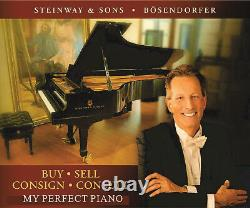 May 9 reduced price / new-in-2013 STEINWAY & SONS Model O Grand Piano