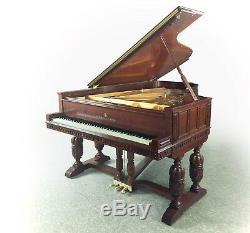 Museum grade, collector value STEINWAY & SONS Model B semi concert grand piano