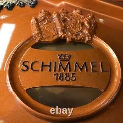 NEW Floor Model Schimmel 208T Polished Ebony Circa 2011