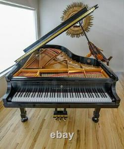 Nearly un-used, new in 2004 showroom perfect STEINWAY & SONS Model B Grand Piano