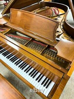 New in 1995 STEINWAY & SONS Model B semi concert grand piano