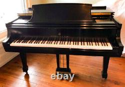 New in 1995 STEINWAY & SONS Model L Living Room Concert Grand Piano