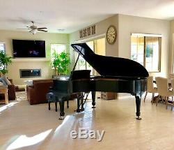New in 1998 STEINWAY & SONS Model B semi concert grand piano