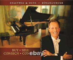 New in 2001 BOSENDORFER Model 214 / 7-foot STRAUSS Grand Piano