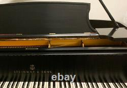 Performance level STEINWAY & SONS Model B semi concert grand piano
