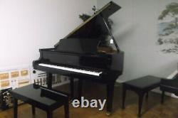 Petrof Grand, Model IV, 5-8 Gloss Ebony, S/N 544439 (1996)