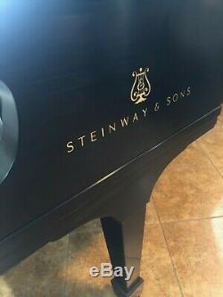 Rare Custom Steinway & Sons Model D Steinway Factory Restored in 2003 (OEM 1987)