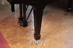 Rebuilt, 1914, Steinway Model O grand piano in black. 5 year warranty