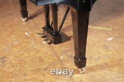 Rebuilt 1928, Steinway Model M grand piano in black. 5 year warranty
