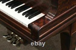 Rebuilt Steinway Model O Grand Piano Ribbon Mahogany Excellent