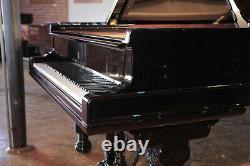Restored, 1881, Steinway Model B grand piano in black. 5 year warranty