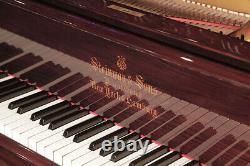 Restored, 1899, Steinway Model B grand piano in rosewood. 3 year warranty