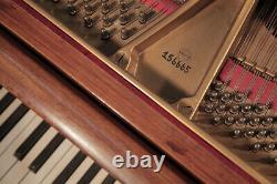 Restored, 1913, Steinway Model O grand piano in mahogany. 3 year warranty