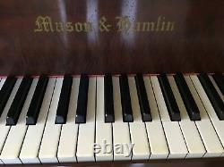 Restored 1925 Mason And Hamlin Model BB Grand Piano (Reproducer Removed)