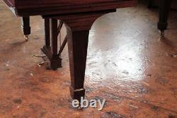 Restored, 1972, Steinway Model O grand piano in mahogany. 3 year warranty