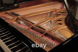 Restored, 1978, Steinway Model O grand piano in black. 5 year warranty
