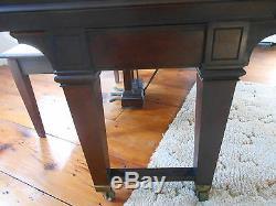 STEINWAY ART DECO Grand Piano 1927 Model L Ribbon Mahogany Orig Mechanics