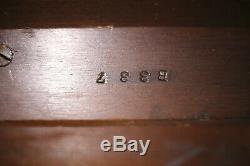 STEINWAY BABY GRAND PIANO Model S Mahogany 5'1 Manufactured 1952 Rebuilt 2015