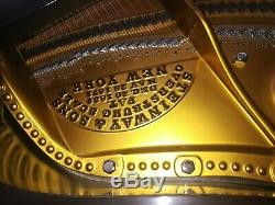 STEINWAY Grand Piano model B beautiful Art case semi concert grand piano