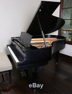 STEINWAY & SONS Model O grand piano technician inspected