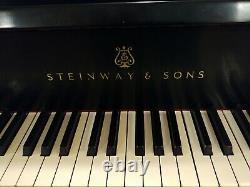 STUNNING STEINWAY MODEL B GRAND PIANO Ebony Finish Serial Number 418940