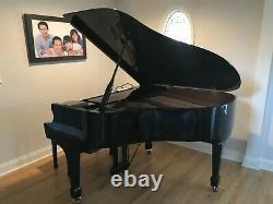 Samick Baby Grand Piano, Glossy Black model SG150C. Pre-loved in Fairfield, CT