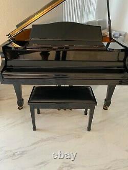 Samick Baby Grand Piano model SIG50, ebony
