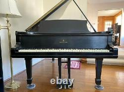 Satin Black 1881 Steinway & Sons Model B 6'11 Grand Piano