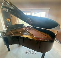 Schafer & Sons Model SG-58 Baby Grand Piano Ebony Polish 1977
