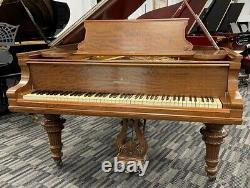 Steinway A 6'1 Grand Piano Picarzo Pianos Satin Mahogany Model