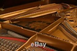 Steinway B Tiffany Limited Edition Collection #68 Rare African Pommele Wood